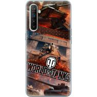 Силиконовый чехол Remax Realme XT World Of Tanks