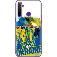 Силиконовый чехол Remax Realme 5 Ukraine national team