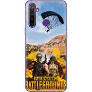 Силиконовый чехол Remax Realme 5 Pubg parachute