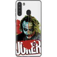Силиконовый чехол Remax Samsung A215 Galaxy A21 Joker Vector