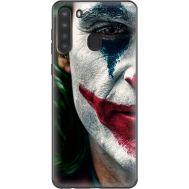 Силиконовый чехол Remax Samsung A215 Galaxy A21 Joker Background