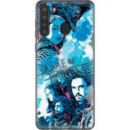Силиконовый чехол Remax Samsung A215 Galaxy A21 Game Of Thrones