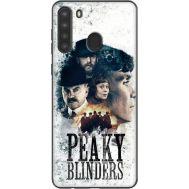 Силиконовый чехол Remax Samsung A215 Galaxy A21 Peaky Blinders Poster