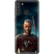 Силиконовый чехол Remax Samsung A215 Galaxy A21 Vikings
