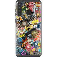 Силиконовый чехол Remax Samsung A215 Galaxy A21 CS:Go Stickerbombing