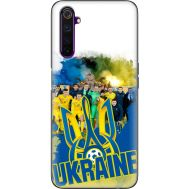 Силиконовый чехол Remax Realme 6 Pro Ukraine national team
