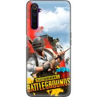 Силиконовый чехол Remax Realme 6 Pro PLAYERUNKNOWN'S BATTLEGROUNDS