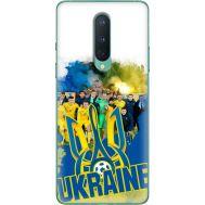 Силиконовый чехол Remax OnePlus 8 Ukraine national team