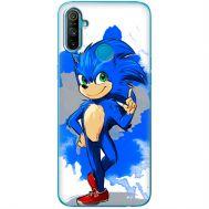 Силиконовый чехол Remax Realme C3 Sonic Blue