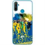 Силиконовый чехол Remax Realme C3 Ukraine national team
