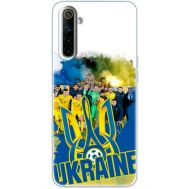 Силиконовый чехол Remax Realme 6 Ukraine national team