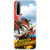 Силиконовый чехол Remax Realme 6 PLAYERUNKNOWN'S BATTLEGROUNDS