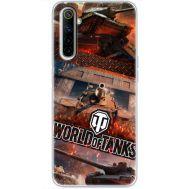 Силиконовый чехол Remax Realme 6 World Of Tanks