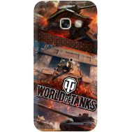 Силиконовый чехол Remax Samsung A320 Galaxy A3 2017 World Of Tanks
