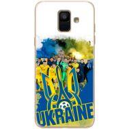 Силиконовый чехол Remax Samsung A600 Galaxy A6 2018 Ukraine national team