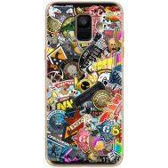 Силиконовый чехол Remax Samsung A600 Galaxy A6 2018 CS:Go Stickerbombing
