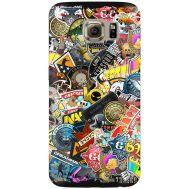 Силиконовый чехол Remax Samsung G925 Galaxy S6 Edge CS:Go Stickerbombing
