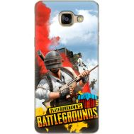 Силиконовый чехол Remax Samsung A710 Galaxy A7 PLAYERUNKNOWN'S BATTLEGROUNDS
