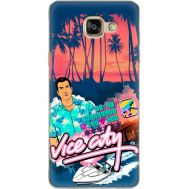 Силиконовый чехол Remax Samsung A710 Galaxy A7 GTA Vice City