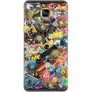 Силиконовый чехол Remax Samsung A710 Galaxy A7 CS:Go Stickerbombing