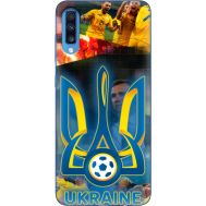 Силиконовый чехол Remax Samsung A705 Galaxy A70 UA national team