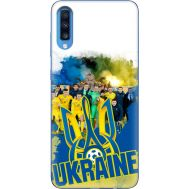 Силиконовый чехол Remax Samsung A705 Galaxy A70 Ukraine national team
