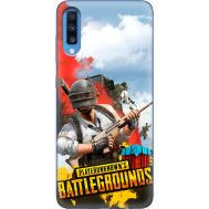 Силиконовый чехол Remax Samsung A705 Galaxy A70 PLAYERUNKNOWN'S BATTLEGROUNDS