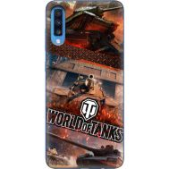 Силиконовый чехол Remax Samsung A705 Galaxy A70 World Of Tanks