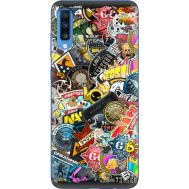 Силиконовый чехол Remax Samsung A705 Galaxy A70 CS:Go Stickerbombing