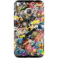 Силиконовый чехол Remax Samsung J120H Galaxy J1 2016 CS:Go Stickerbombing