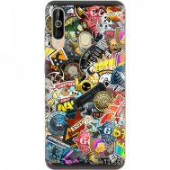 Силиконовый чехол Remax Samsung A6060 Galaxy A60 CS:Go Stickerbombing