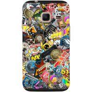 Силиконовый чехол Remax Samsung J105 Galaxy J1 Mini Duos CS:Go Stickerbombing