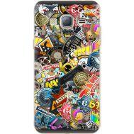 Силиконовый чехол Remax Samsung J320 Galaxy J3 CS:Go Stickerbombing