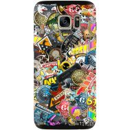 Силиконовый чехол Remax Samsung G930 Galaxy S7 CS:Go Stickerbombing