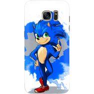 Силиконовый чехол Remax Samsung G935 Galaxy S7 Edge Sonic Blue