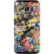 Силиконовый чехол Remax Samsung G935 Galaxy S7 Edge CS:Go Stickerbombing