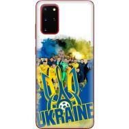 Силиконовый чехол Remax Samsung G985 Galaxy S20 Plus Ukraine national team