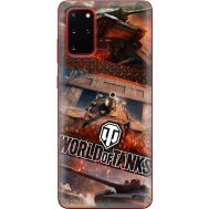 Силиконовый чехол Remax Samsung G985 Galaxy S20 Plus World Of Tanks