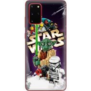 Силиконовый чехол Remax Samsung G985 Galaxy S20 Plus Lego StarWars
