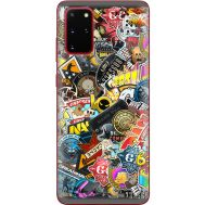 Силиконовый чехол Remax Samsung G985 Galaxy S20 Plus CS:Go Stickerbombing