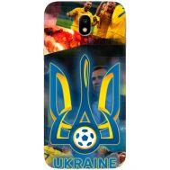 Силиконовый чехол Remax Samsung J330 Galaxy J3 2017 UA national team