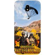 Силиконовый чехол Remax Samsung J330 Galaxy J3 2017 Pubg parachute