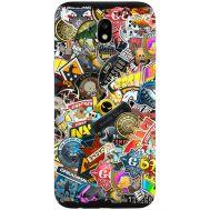 Силиконовый чехол Remax Samsung J330 Galaxy J3 2017 CS:Go Stickerbombing