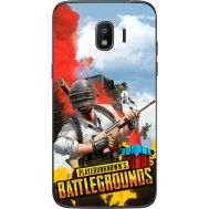 Силиконовый чехол Remax Samsung J250 Galaxy J2 (2018) PLAYERUNKNOWN'S BATTLEGROUNDS