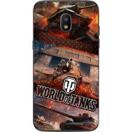 Силиконовый чехол Remax Samsung J250 Galaxy J2 (2018) World Of Tanks
