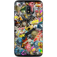 Силиконовый чехол Remax Samsung J250 Galaxy J2 (2018) CS:Go Stickerbombing