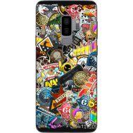 Силиконовый чехол Remax Samsung G965 Galaxy S9 Plus CS:Go Stickerbombing