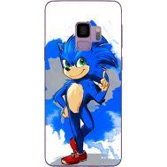 Силиконовый чехол Remax Samsung G960 Galaxy S9 Sonic Blue