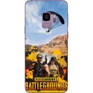 Силиконовый чехол Remax Samsung G960 Galaxy S9 Pubg parachute