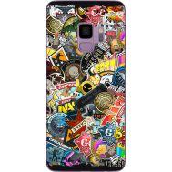 Силиконовый чехол Remax Samsung G960 Galaxy S9 CS:Go Stickerbombing